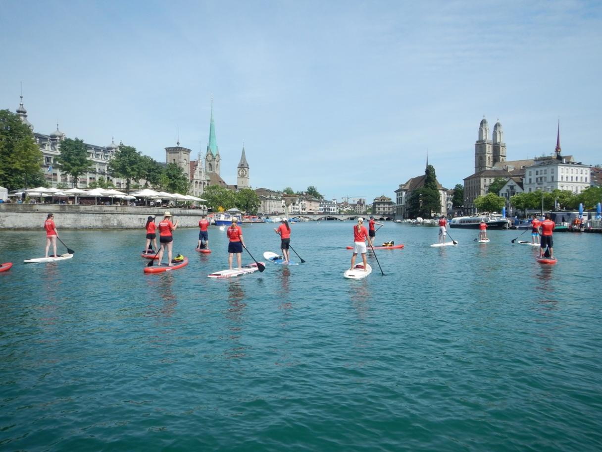 Stand-up Paddle City Tour   Experiences in Zurich