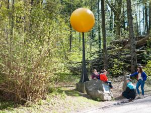 Planet Trail from Uetliberg to Felsenegg