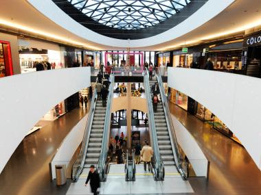 Zurich shopping mall Sihlcity