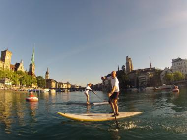 SUP City Tour Zurich
