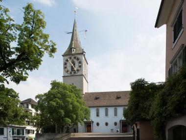 St. Peter Oldest Parish Church Zurich