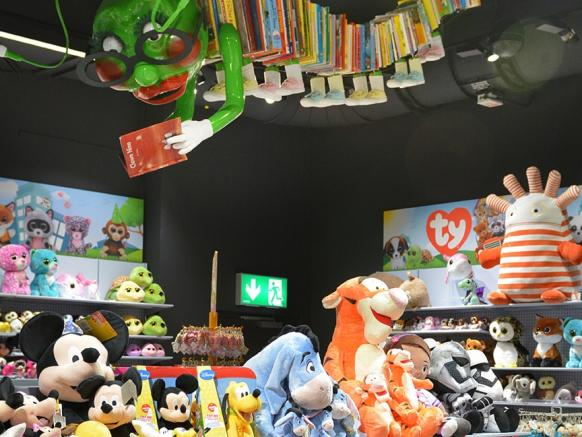 A huge range of toys for every age and taste