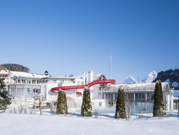 Swiss Holiday Park in winter