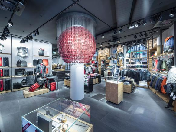 Inside view of the the Flagship Store Zurich