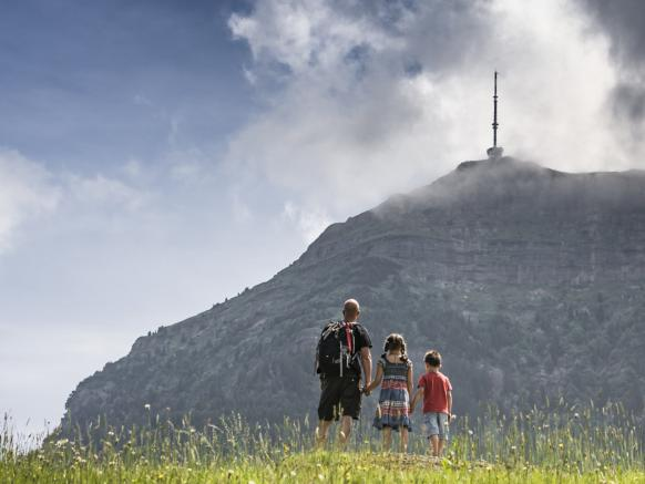 A mountain for the whole family