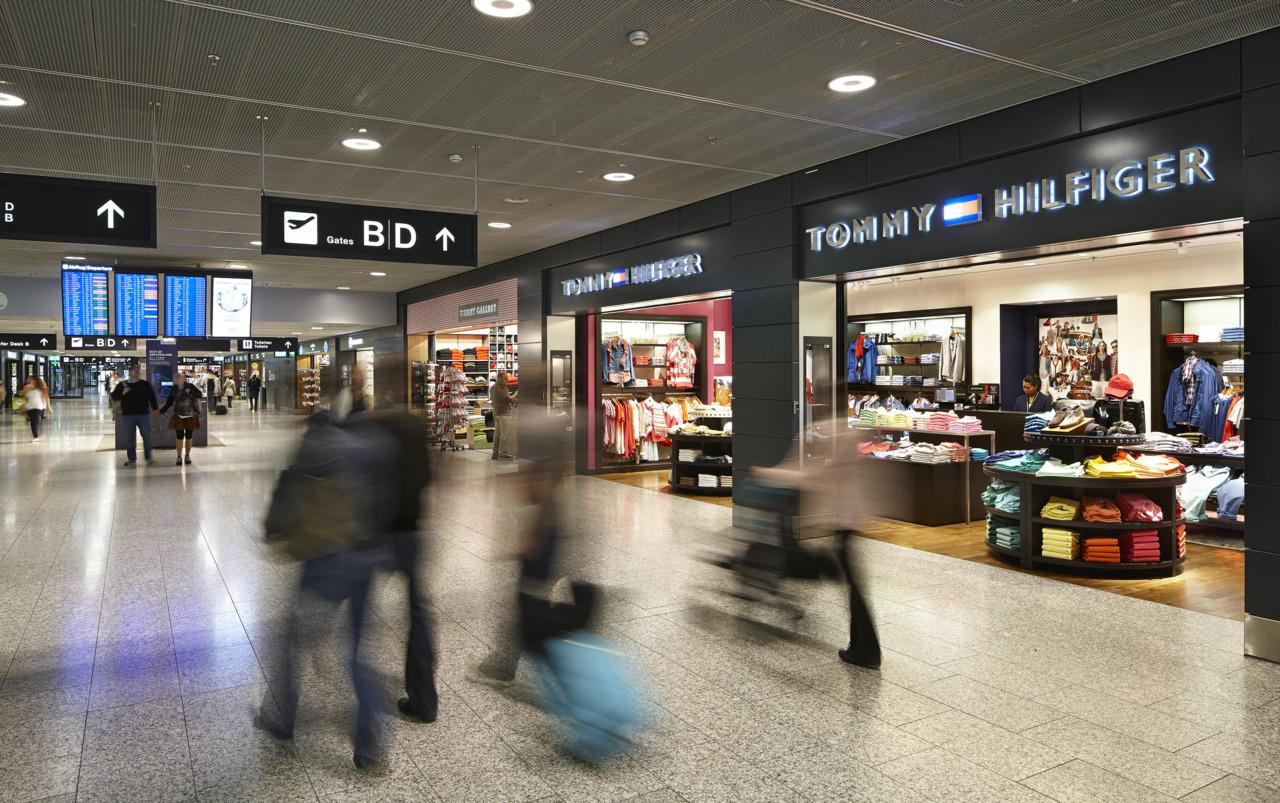 Airport Shopping at Zurich Airport