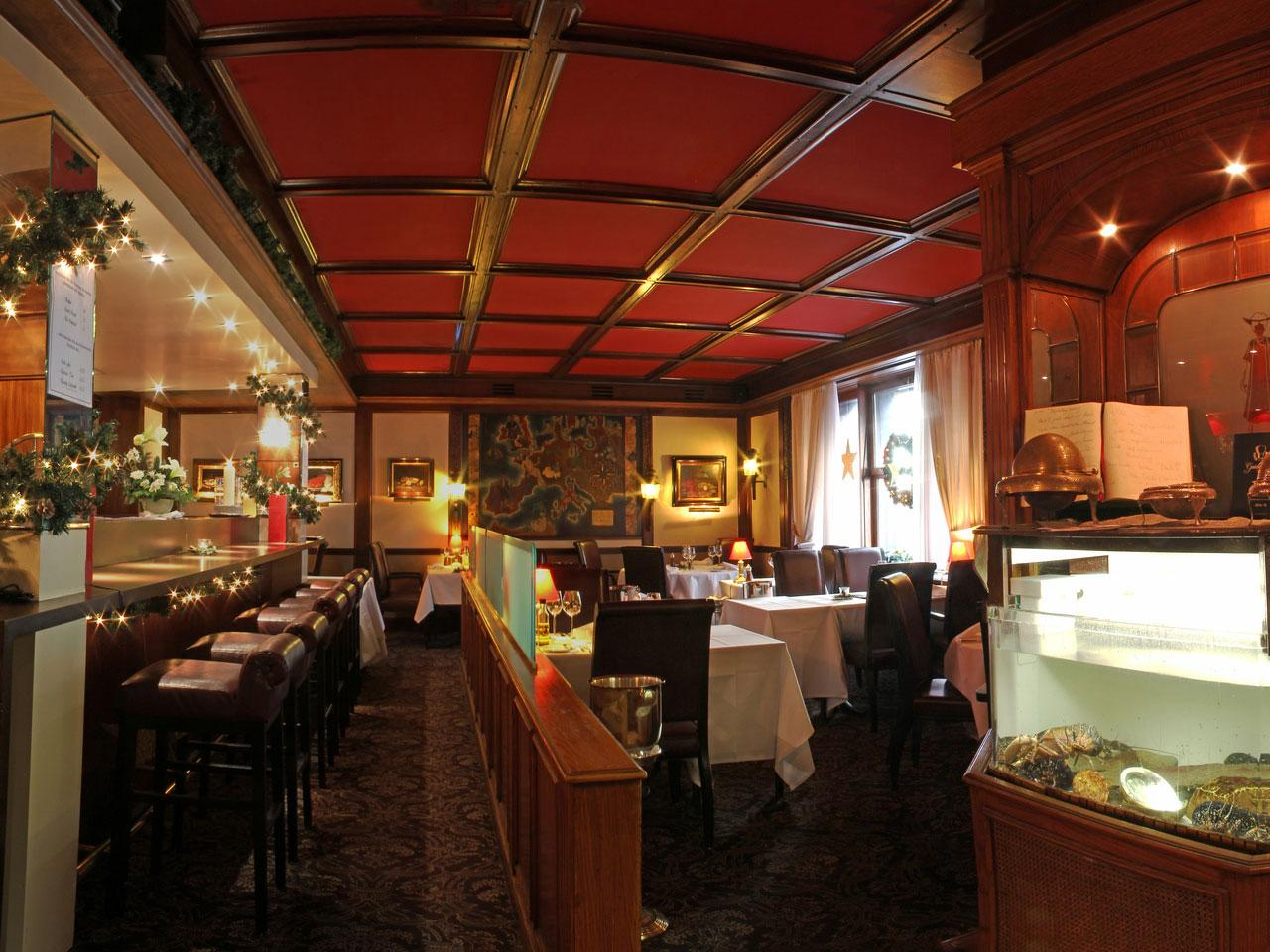 Restaurant Lobster and Oyster Bar, Hotel Gotthard Zurich