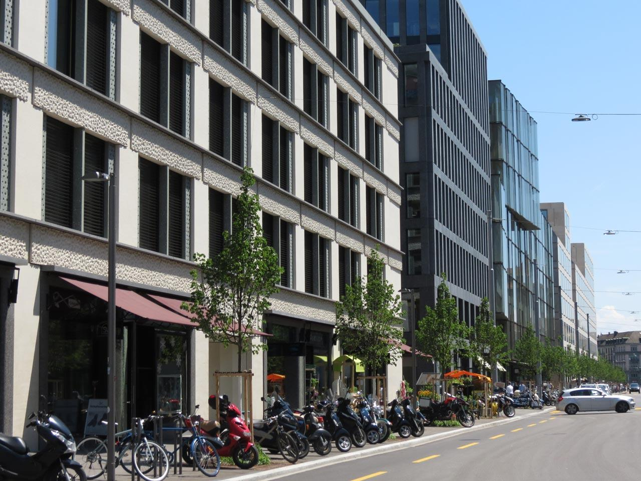 Europaallee – the New District in the Heart of Zurich