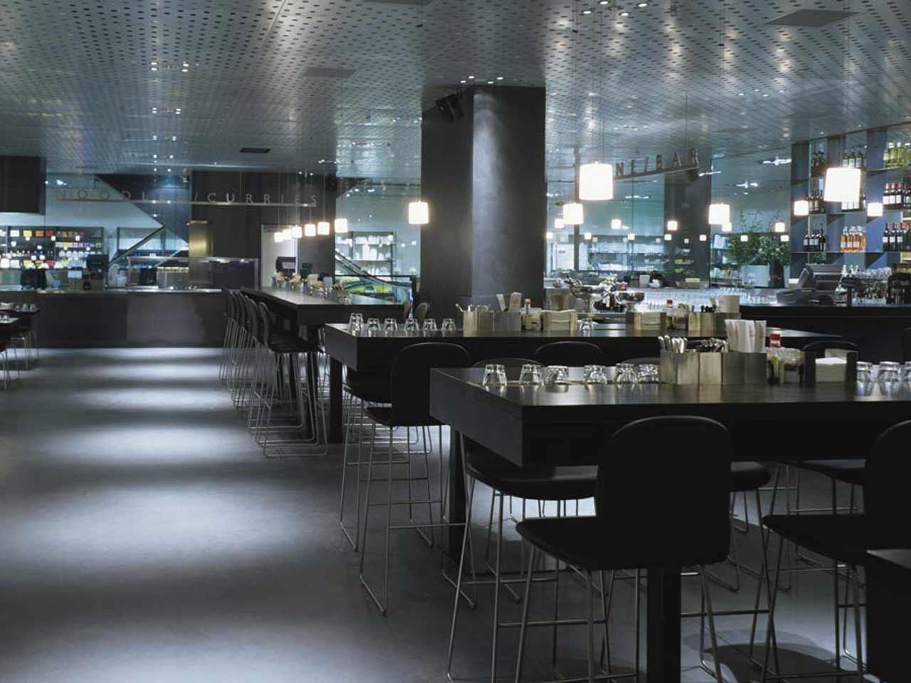 Globus Zurich Bellevue Restaurant Food Hall
