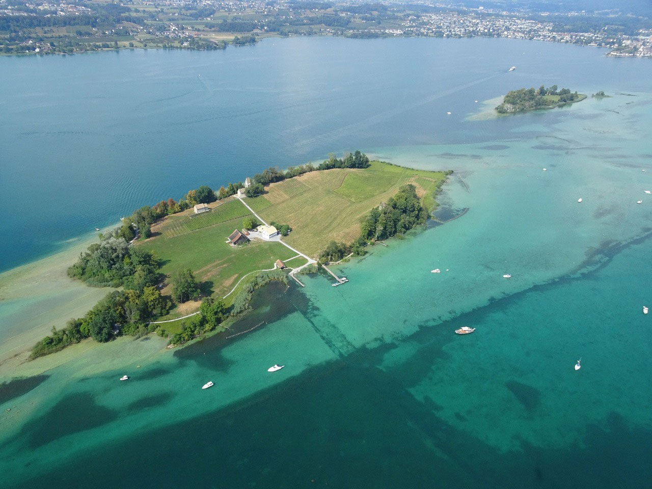 Ufenau Island   Attractions in Zurich